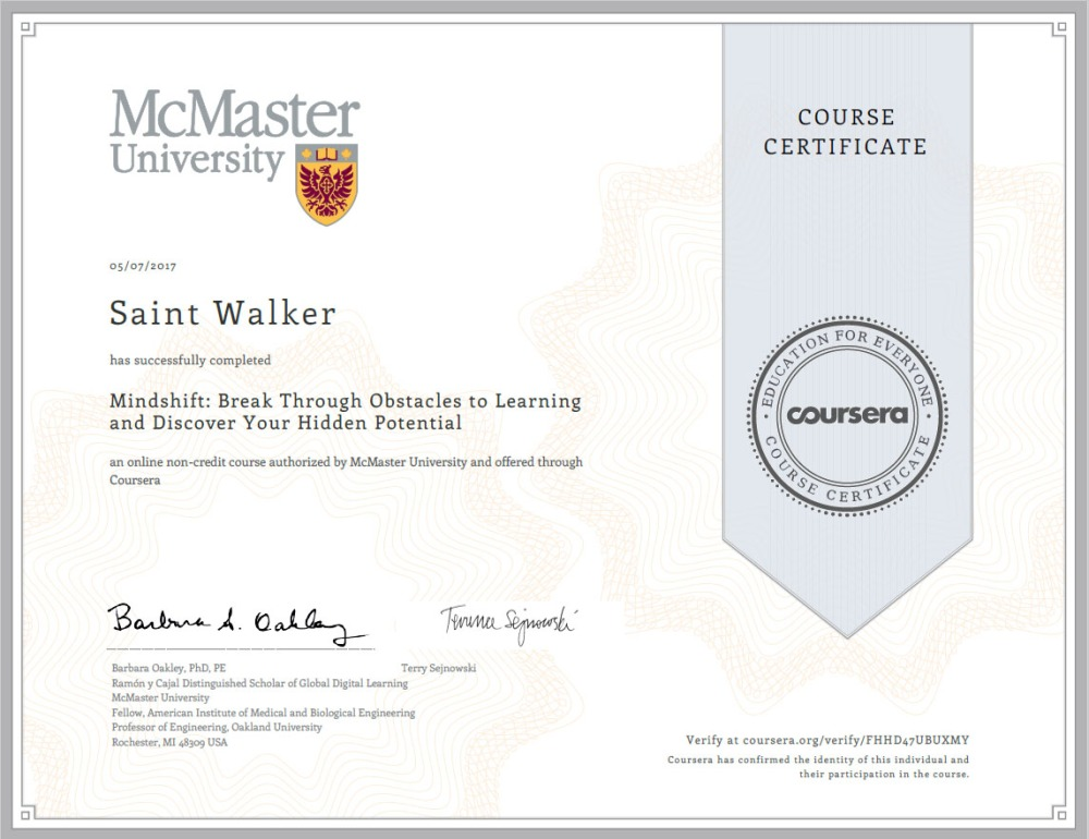 Certificate_Mindshift
